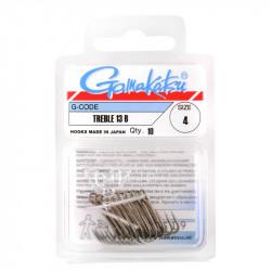 10 Treble Hooks 13B Bronze Gamakatsu