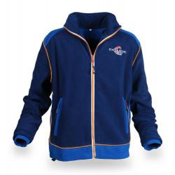 Orange and blue fleece Colmic