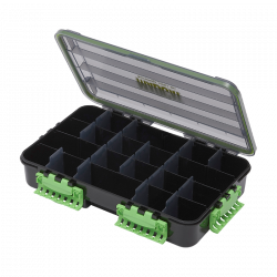Boite De Rangement Tackle Box 4 Compartiments 35x22x8cm Madcat