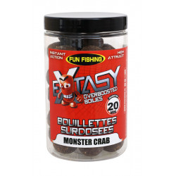 Extasy Overdose Boilies 200gr 15 / 20mm Monster Crab Fun Fishing