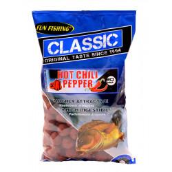 Classic Boillies 4kg 20mm Hot Chili Peper Fun Fishing