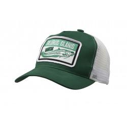 Silurus Glanis Pet Cap One Size Groen / Grijs Madcat