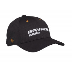 Sports Mesh Cap One Size Black Ink Savage