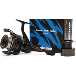 Okuma Custom Black Feeder Clxf-55fd 7 + 1 Alu Spare