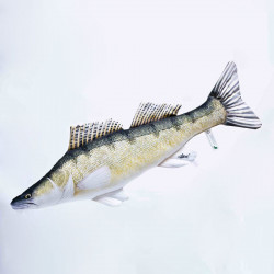 Gaby Fish Pike-perch 77cm Fish Pillow