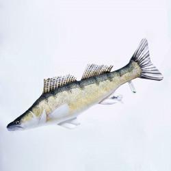 Oreiller Poisson Le Sandre 77cm Gaby Fish