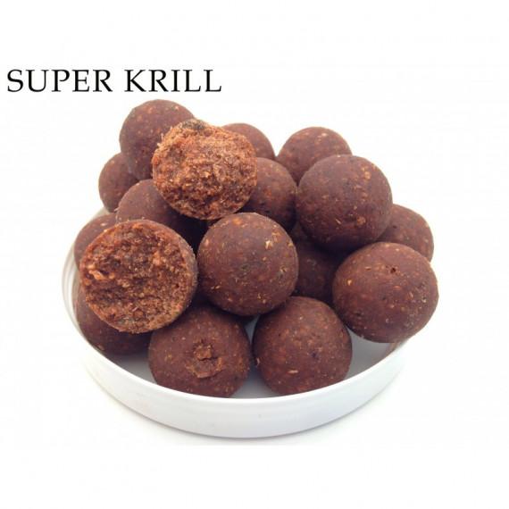 Super Krill Boilies 10kg 15mm Orbiter lokaas 1