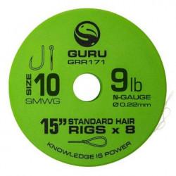 Guru Smwg Standard Hair 15 Siz 10 0.22Mm