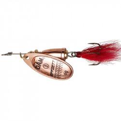 Effzett Leurres Executor Dressed Spinner T2 4G Sinking Copper