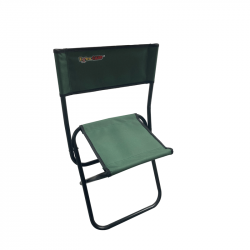 Folding chair with Extracarp backrest