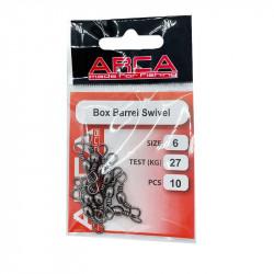 Arca 10 Box Barrel Swivel Zwart