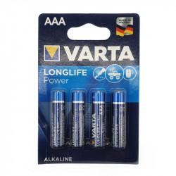 AAA 1.5v batteries by 4 Varta