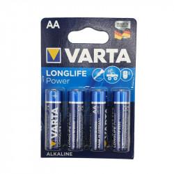 1.5v AA batteries by 4 Varta
