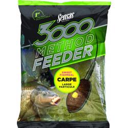 Groundbait 3000 Method Carp 1kg Sensas