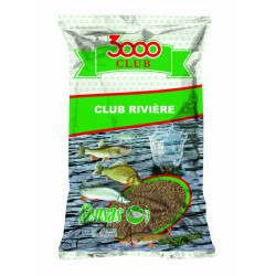 Grondvoer 3000 Club Riviere 2,5kg Sensas