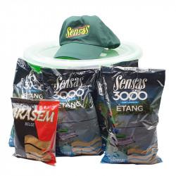 Pack Seau 15L 3000 Etang Sensas