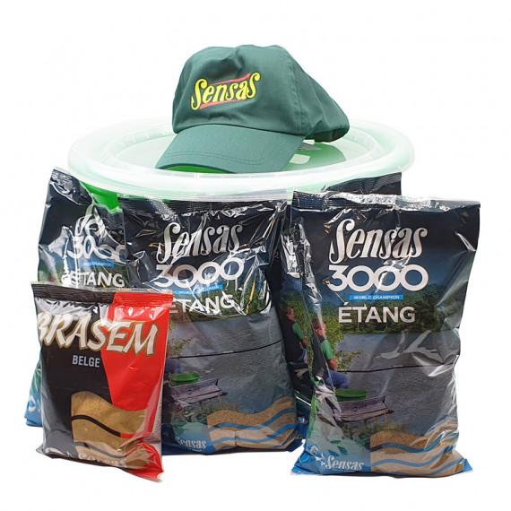 Pack Bucket 15L 3000 Etang Sensas