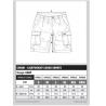 Chunk lightweight cargo shorts Camo Fox min 1