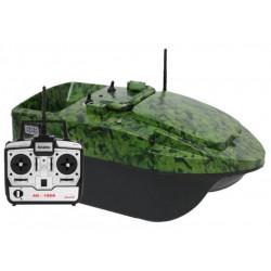 Anatec pacboat startr Evo Camou Forest bait boat + DE104 remote control