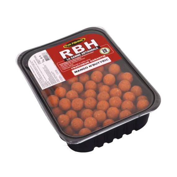 Rbh Boilies 1kg Mango n'butyric 2
