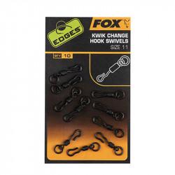 Edges Kwik Change Heli Swivels Fox