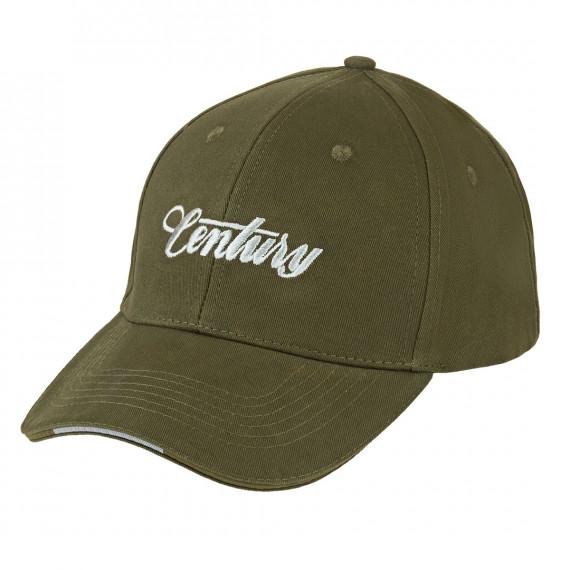 Century cap logo 3d silver t: u Century