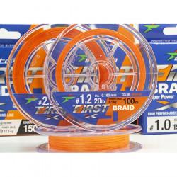 Braid Intech First Braid X4 Orange 150M