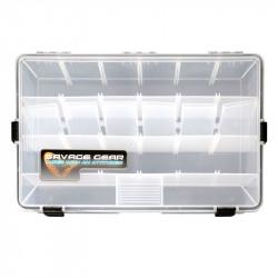 Boîte à leurres Waterproof Transparente Savage