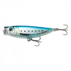 3d lure Minnow Popwalker 5.5cm 6g Floating Ghost sardine Savage