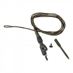 Lead clip mount 80cm 45lb Camo 3Pcs Prologic