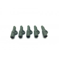 5 Euro safety clips  Olive Green Dk Tackle