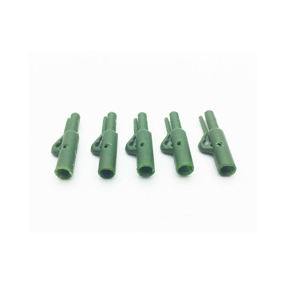 5 mega Euro veiligheidsclips Olive Green Dk Tackle 1