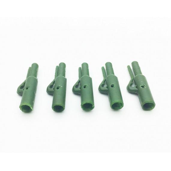 5 mega Euro veiligheidsclips Olive Green Dk Tackle
