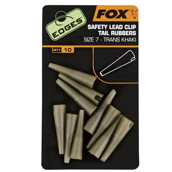 Edge Lead clips Tail rubb. cac478 Fox