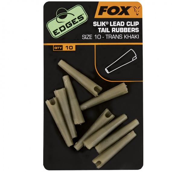 Edge Lead clips Tail rubb. cac480 Fox