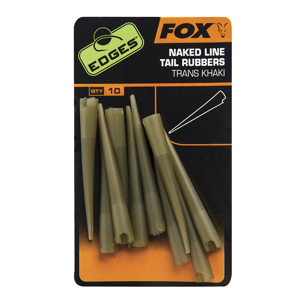 Edges Power Grip Tail Rubbers Size 7 cac637 Fox 1