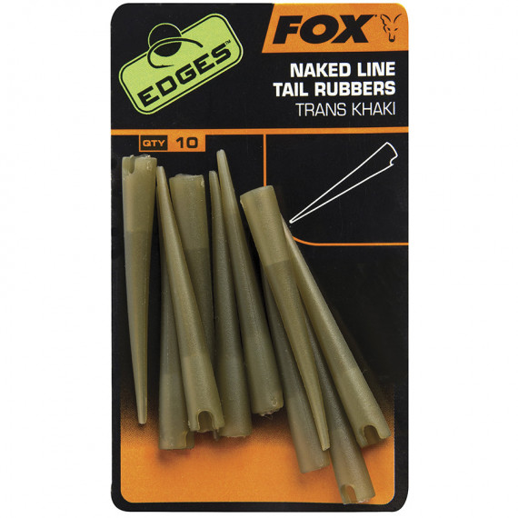 Edges Power Grip Tail Rubbers Size 7 cac637 Fox