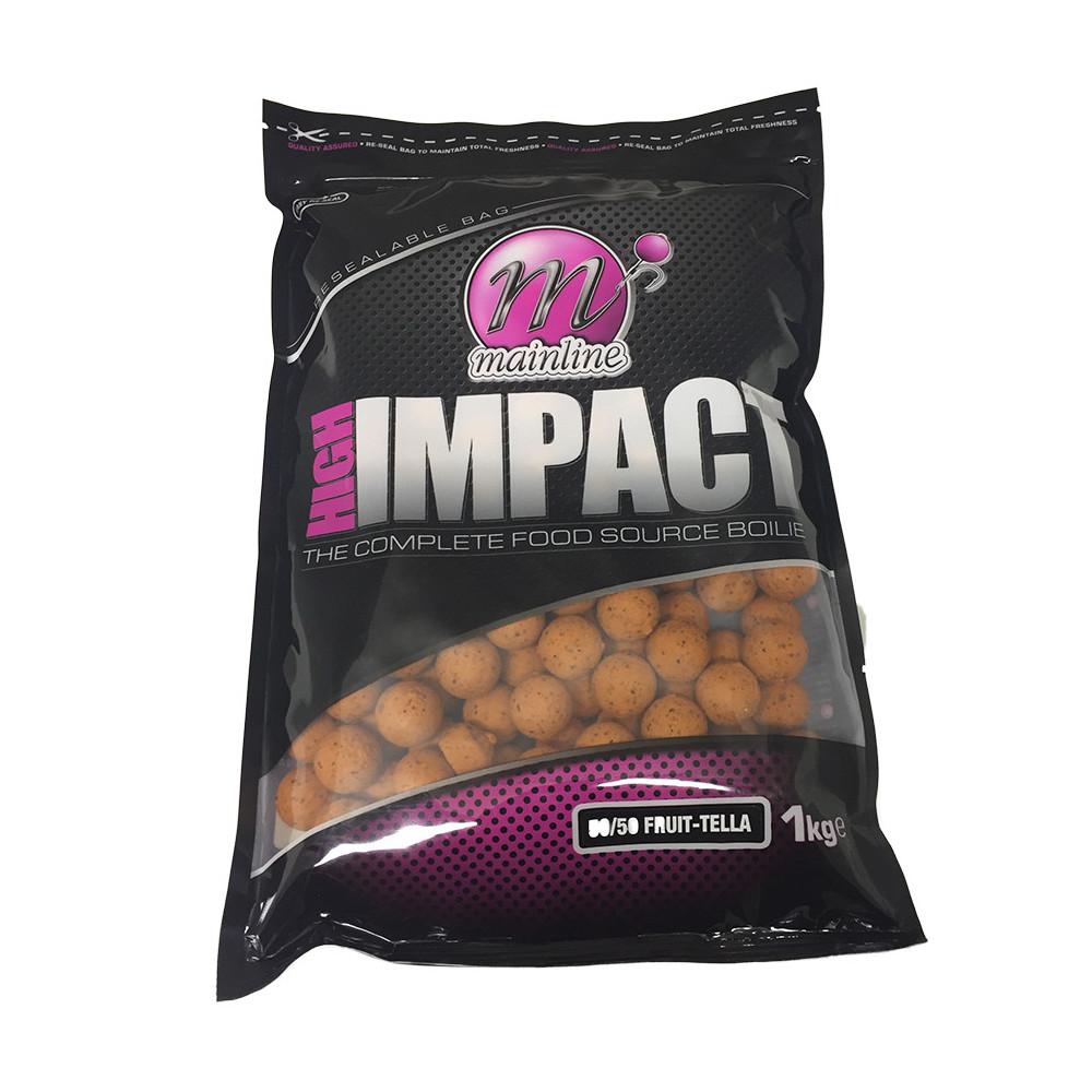 1kg High Impact Boilies 50/50 Fruittella Mainline 1