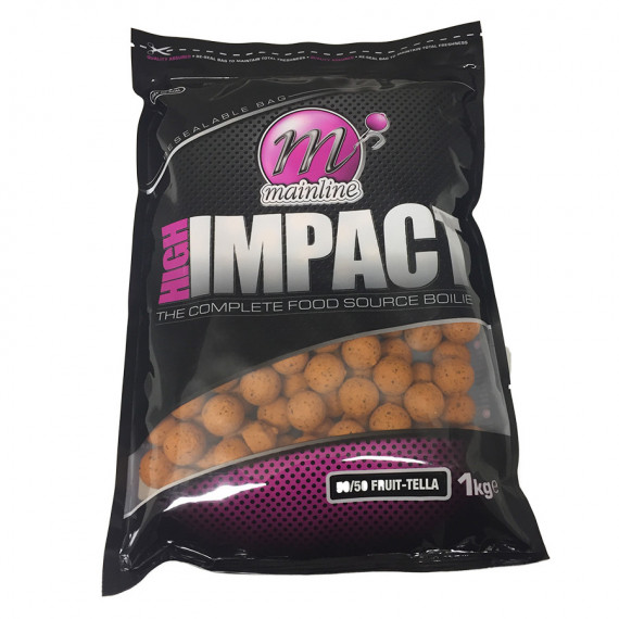 1kg High Impact Boilies 50/50 Fruittella Mainline