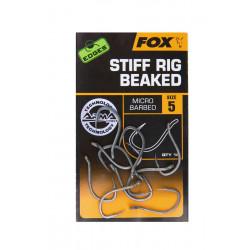 Carp hook Edges Armapoint stiff Rig Beaked Fox