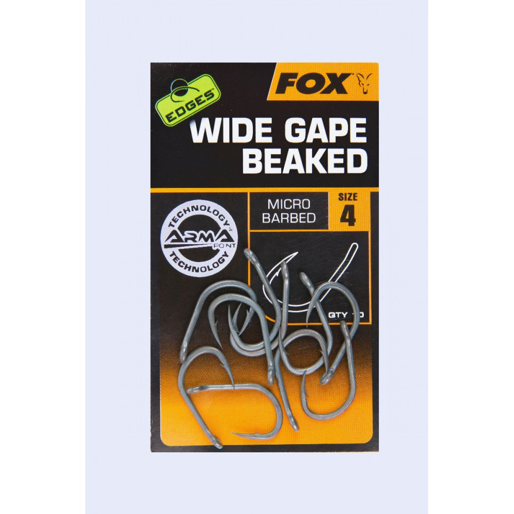 Edges Armapoint Wide Gape Beaked Fox karper Haak 1