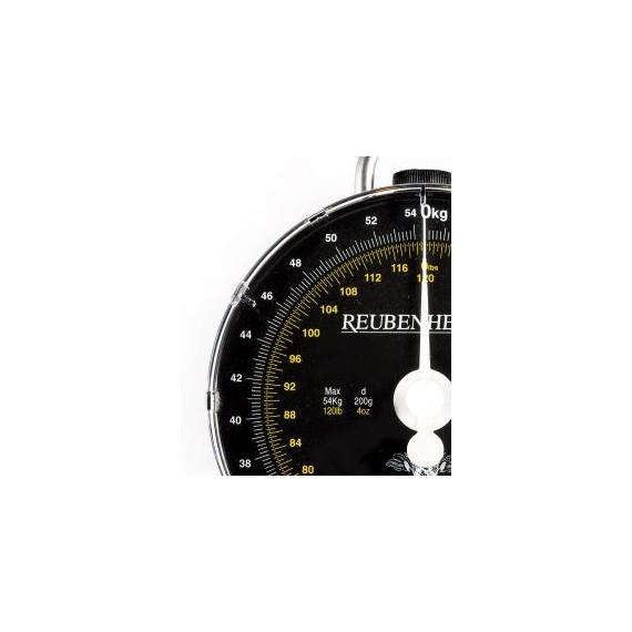 Reuben Heaton 54kg (120 lbs) dial scale 3