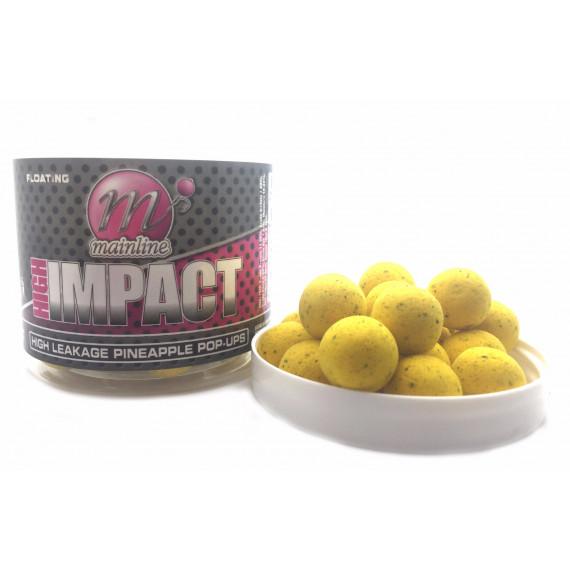 High Impact Pop-up h/l Pineapple 15mm Mainline