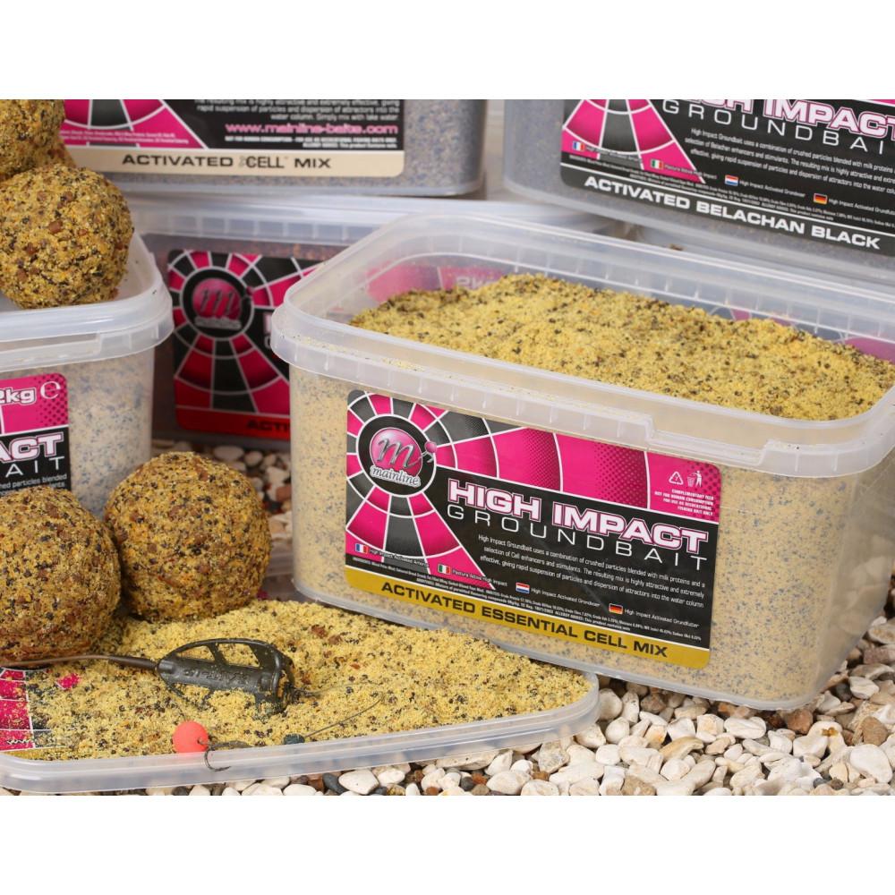 High Impact Groundbait 2kg Nut Mix Mainline 1