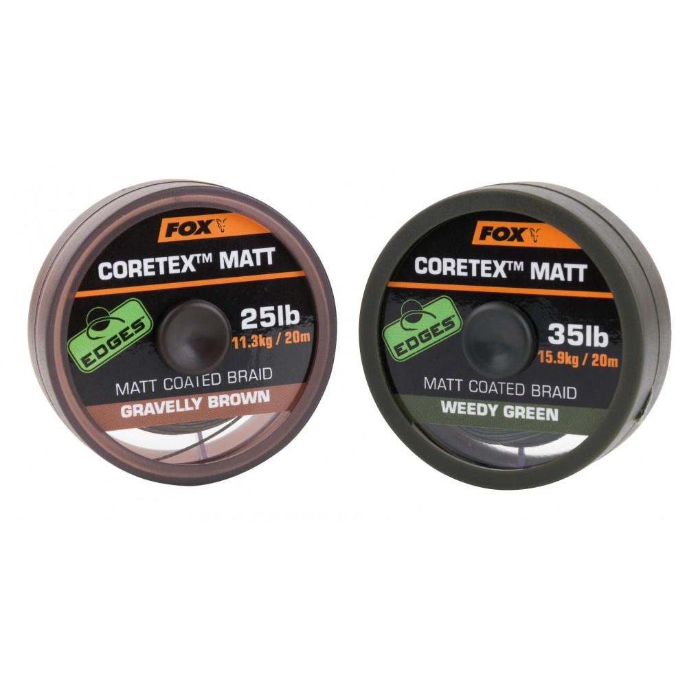 Tresse matt coretex gravelly Brown 20m Fox 1
