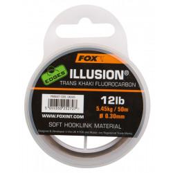 Fluorocarbone 50m Illusion Soft hooklink Khaki Fox