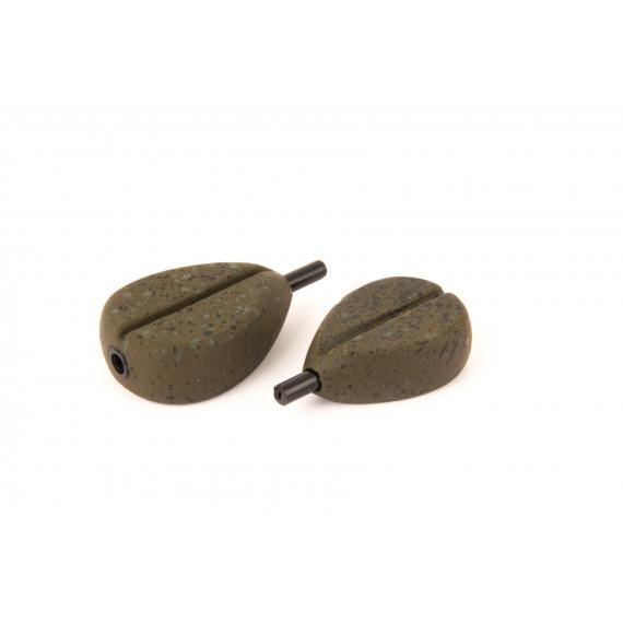 Carp lead Flat Pear In-line Fox