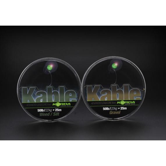 Kable Leadcore weed / silt 7m Korda