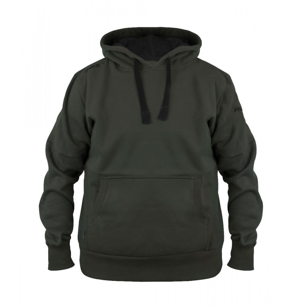 Green Black Fox Hoodie 1