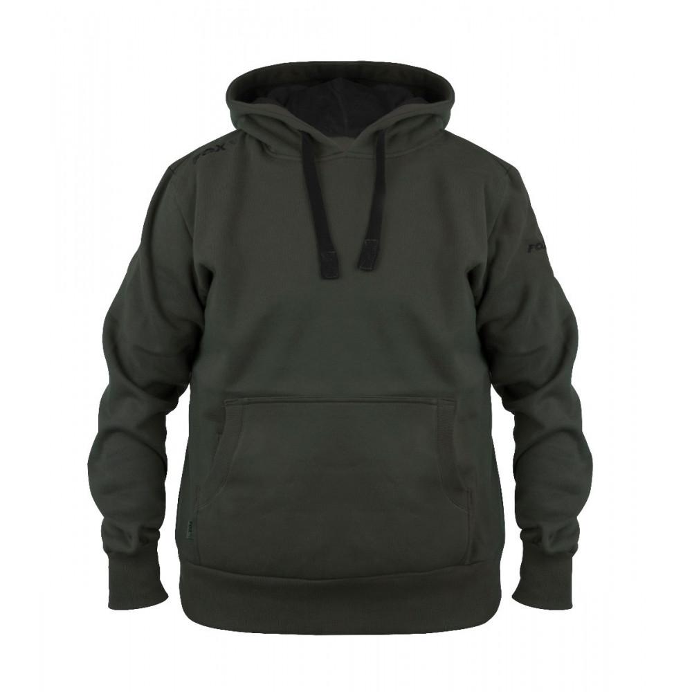 Hoodie Green Black Fox 1